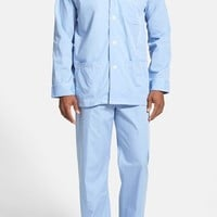 Men's Derek Rose Cotton Pajamas,