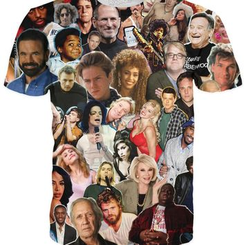 Dead Celebrities Paparazzi T-Shirt