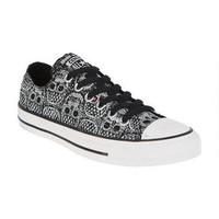 Converse Skull & Lace Ox