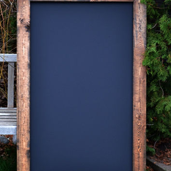"SHIPS IN 3-5 DAYS! Huge Rustic Chalkboard 34""x53"""