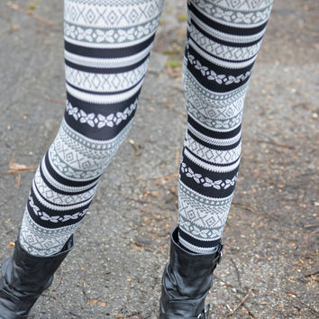 Just in Time Printed Leggings