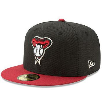 Arizona Diamondbacks D-Backs New Era 59FIFTY Diamond Era MLB Cap Hat Fitted 5950