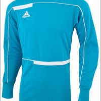 adidas Freno 12 Goalkeeper Jersey - Clear Blue with White