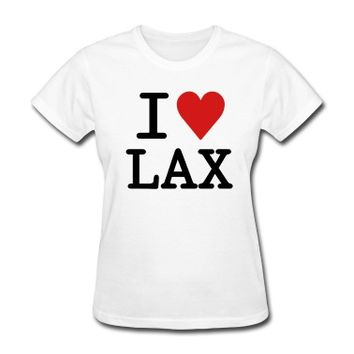 I Love LAX T-Shirt | Spreadshirt | ID: 8163923
