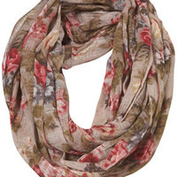 Tapestry Floral Snood