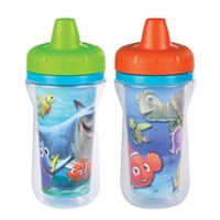 The First Years Disney Finding Nemo Insulated Sippy Cup, 2 Count (Color and design may vary)