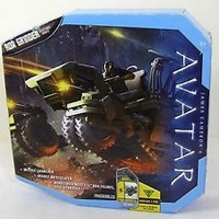 JAMES CAMERON'S AVATAR RDA GRINDER VEHICLE W/MISSLE LAUNCHER NEW IN BOX.