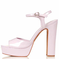 LUTHER Skinny Sandals - Pink