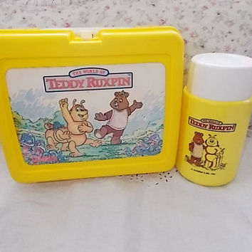 1986 Teddy Ruxpin Lunch Box/ Not Included in Coupon Sale