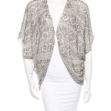 Alice + Olivia Embellished Jacket