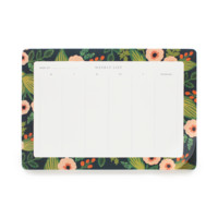 Jardin Weekly Desk Pad by RIFLE PAPER Co. | Made in USA