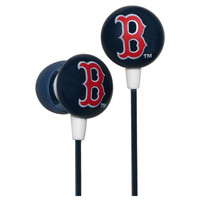 Ihip Logo Baseball Earbuds - Boston Red Sox