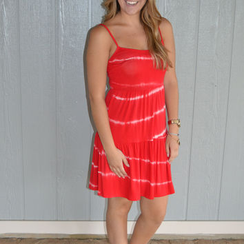 Color Your World Dress (Red)