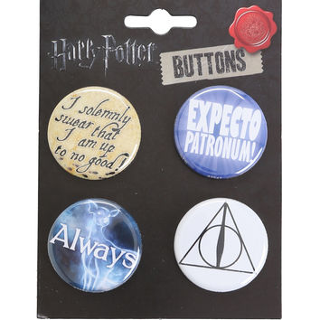 Harry Potter Always Expecto Pin Set