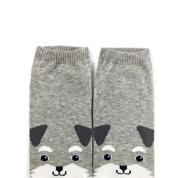 Scruffy Puppy Ankle Socks