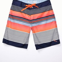 Lost Fishbone Boardshorts - Mens Board Shorts - Blue