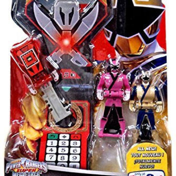 Power Rangers Super Megaforce Legendary Key Pack Samurai Fire (Red), Sky (Pink), Light (Gold) 38316