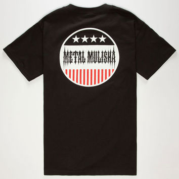 Metal Mulisha Executive Mens T-Shirt Black  In Sizes