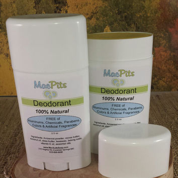 NOW Baking Soda FREE!   100% Natural Deodorant, Aluminum Free, Palm Free, paraben Free, Choose your Scent