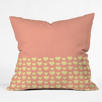 Allyson Johnson Summer Love Throw Pillow