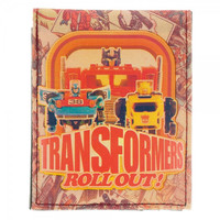 Transformers Wallet - Roll Out