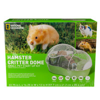 National Geographic™ Critter Dome Hamster Cage