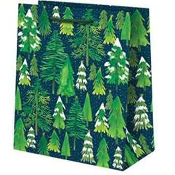 Snowy Trees Medium Gift Bag