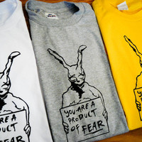 Donnie Darko Inspired Frank the Rabbit by mosaicshirts on Etsy