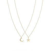 MOON STAR BFF NECKLACES