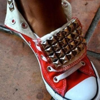 DCCKHD9 Studded Converse Allstars Chuck Taylors Any by LoveChuckTaylors