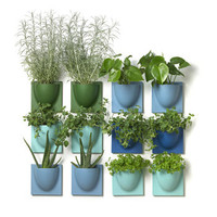 Mini Wall Flower Pots Four Pack