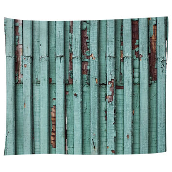 Distressed Turquoise Tapestry