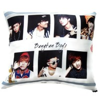Bangtang Boys BTS Boy Band Kpop Pillowcase BTS (#021)