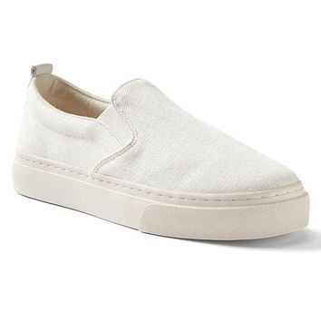Denim slip-on sneakers | Gap