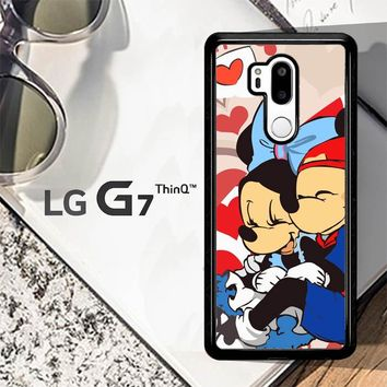 Hugs And Kisses Mickey Minnie Mouse C0043 LG G7 ThinQ Case
