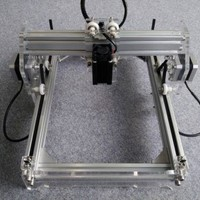 2000 mW Desktop DIY Laser Engraver Engraving Machine CNC Printer aluminium