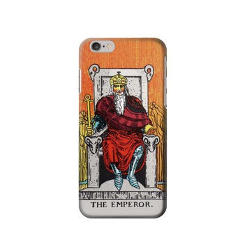 P2808 Tarot Card The Emperor Phone Case For IPHONE 6S