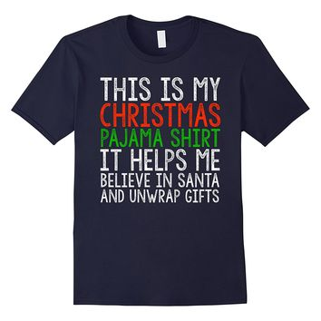 My Christmas Pajama Shirt- Matching XMas PJ's Family T-Shirt