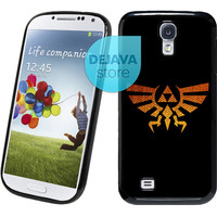 Eagle Triforce Gold Legend of Zelda Samsung Galaxy S4 Case