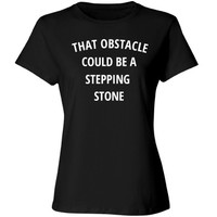 That obstacle could be a stepping stone: Creations Clothing Art