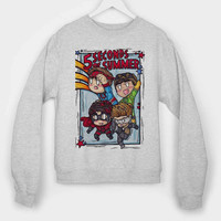 5 Second Of Summer The Avengers Cartoon long sleeves for mens and womens by usa
