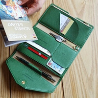 Multi-Function Leather Tri-Fold Phone Handbags Passport Checkbook Wallet