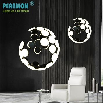 Nordic Post Modern Parlor LED Pendant Light Fixture creative personality Art Indoor Dining Room Restaurant  bedroom bar Lighting