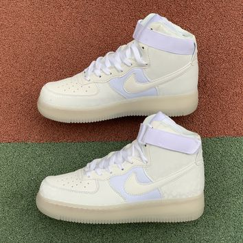 [Free Shipping ]Stash X Air Force1 High Nozzle Cap AO9296-100 Basketball Shoes