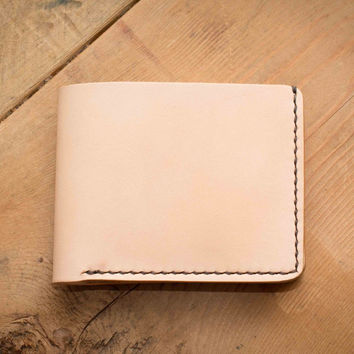 Naked 6 Card Traditional Leather Wallet