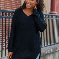 Perfect Pick Sweater - Black