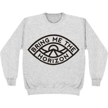 Bring Me The Horizon Men's  Eye Sweatshirt Grey