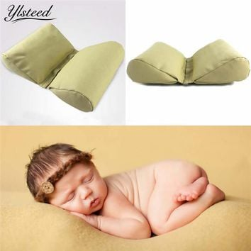 Wedge shaped Posing Pillow for Newborn Photography Props Butterfly Baby Cushion Infant Positioner