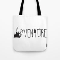 Adventure Tote Bag by allisone
