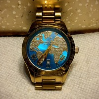 Michael Kors Layton Gold Tone Watch MK6375
